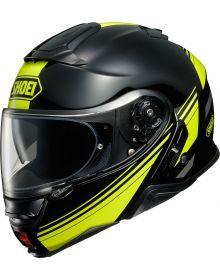 Shoei Neotec II Separator Helmet Black/Hi-Viz