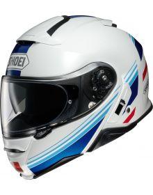 Shoei Neotec II Separator Helmet White/Blue/Red