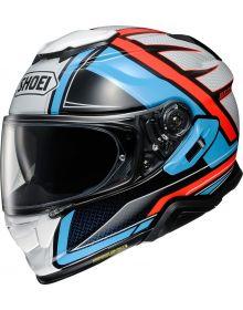 Shoei GT-Air II Haste Helmet Light Blue/Red