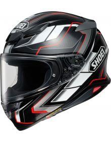 Shoei RF-1400 Prologue Helmet Black/Silver/Red
