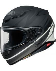 Shoei RF-1400 Nocturne Helmet Matte Black/Silver/White