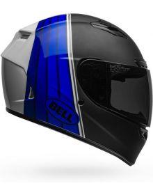 Bell Qualifier DLX Mips Helmet Illusion Matte/Gloss Black/Blue/White