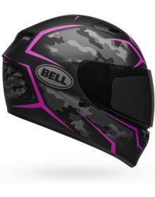 Bell Qualifier Helmet Stealth Camo Matte Black/Pink