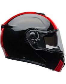 Bell SRT Modular Helmet Ribbon Gloss Black/Red