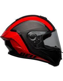 Bell 2021 Helmets Racestar Flex DLX Helmet Tantrum2 Matte Black/Red