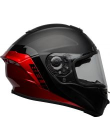 Bell 2021 Helmets Star DLX Mips Helmet Shockwave Matte/Gloss Black/Candy Red