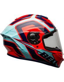 Bell 2021 Helmets Star DLX Mips Helmet Labyrinth Blue/Red