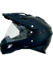 AFX FX-41 Dual Sport Helmet Solid Matte Black