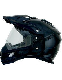 AFX FX-41 Dual Sport Helmet Solid Black