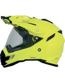 AFX FX-41 Dual Sport Helmet Solid Yellow