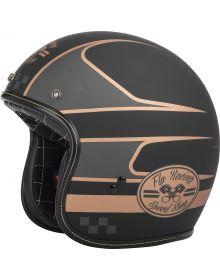 Fly Racing .38 Helmet Black/Copper