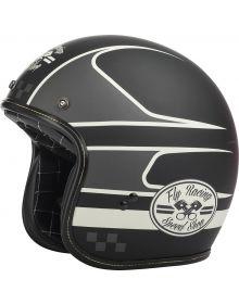 Fly Racing .38 Helmet Black/Vintage White