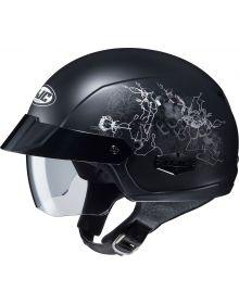 HJC IS-Cruiser Amor Open Face Helmet Semi Flat Black