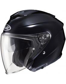 HJC i30 Open Face Helmet Black