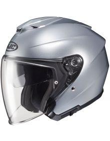HJC i30 Open Face Helmet Silver