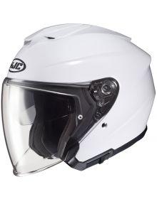 HJC i30 Open Face Helmet White