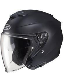 HJC i30 Open Face Helmet Semi-Flat Black