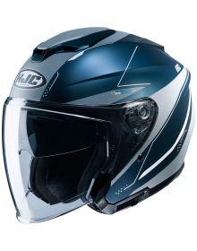 HJC i30 Open Face Helmet Blue/Gray