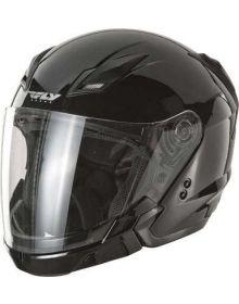 Fly Racing Tourist Helmet Black