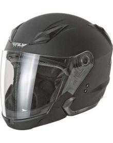 Fly Racing Tourist Helmet Matte Black