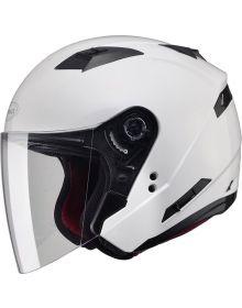 Gmax OF77 Helmet Pearl White