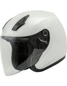 GMax OF-17 Open Face Helmet Pearl White
