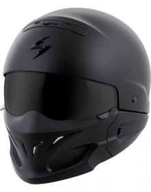 Scorpion Covert Helmet Solid Matte Black