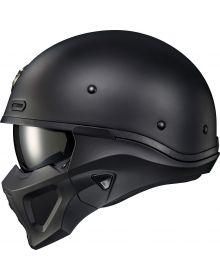Scorpion Covert-X Helmet Solid Matte Black