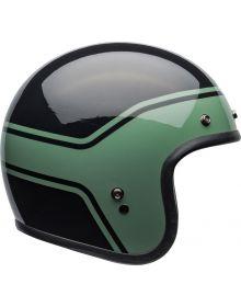 Bell Custom 500 Helmet Streak Black/Green