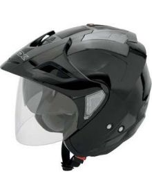 AFX FX50 Open Face Helmet Black
