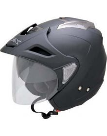AFX FX50 Open Face Helmet Matte Black