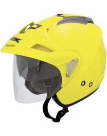AFX FX50 Open Face Helmet Hi-Vis Yellow