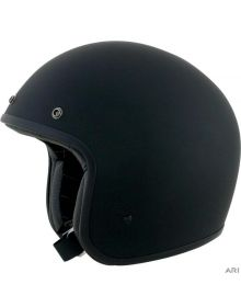 AFX FX-76 Open Face Helmet Matte Black