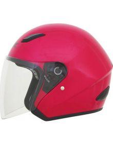 AFX FX-43 Open Face Helmet Lipstick