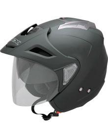 AFX FX-50 Open Face Helmet Matte Grey