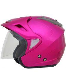 AFX FX-50 Open Face Helmet Fuchsia
