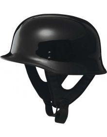 Fly Racing 9MM Half Helmet Black