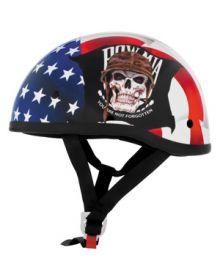 Skid Lid POW/MIA 1/2 Helmet Red/White/Blue