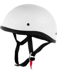 Skid Lid 1/2 Helmet White