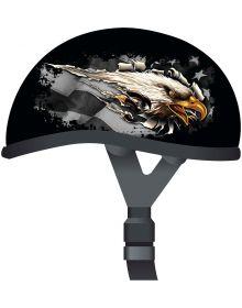 Skid Lid 1/2 Helmet Eagle Rip