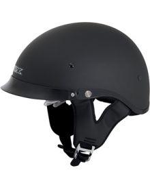 AFX FX-200 1/2 Helmet w/Dual Shield Matte Black
