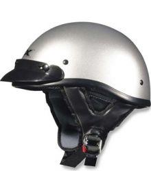 AFX FX-70 1/2 Helmet Silver