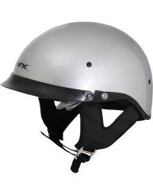 AFX FX-200 1/2 Helmet w/Dual Shield Silver
