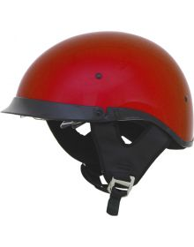 AFX FX-200 1/2 Helmet w/Dual Shield Candy Apple Red