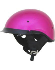 AFX FX-200 1/2 Helmet w/Dual Shield Fuchsia