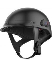 Sena Calvary Bluetooth Half Helmet Matte Black