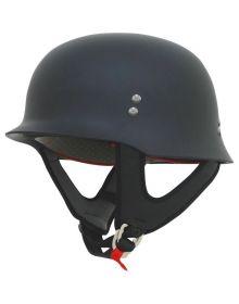 AFX FX-88 1/2 Helmet Matte Black