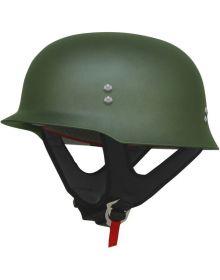 AFX FX-88 1/2 Helmet Matte Green
