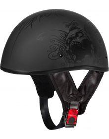 Fulmer 301 Tac Half Helmet Demon Matte Black