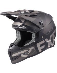 FXR Boost Evo Youth Helmet Black Ops